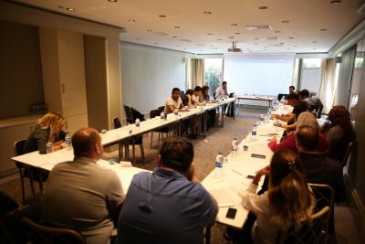 ورشة عمل بعنوان: دور المجتمع المدني في ضمان حقوق الإنسان في إعادة إعمار سورية