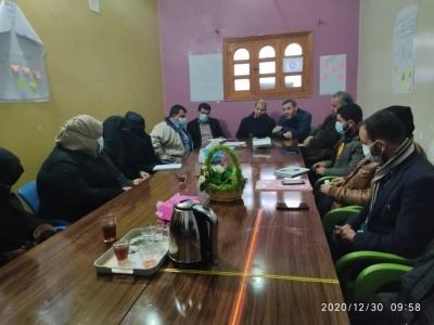 زيارة لمنظمة سحابة وطن في مدينة الباب بريف حلب