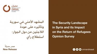 المشهد الأمني في سورية وتأثيره على عودة اللاجئين من دول الجوار: استطلاع رأي